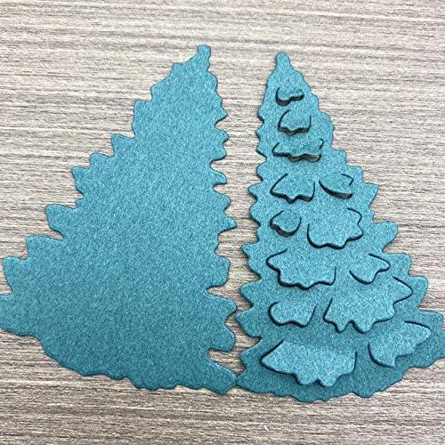 Christmas Tree Snowman Metal Die Cuts Set Christmas Cutting die Stencils for Cards Making Album DIY Scrapbooking Paper