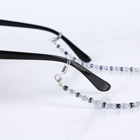 Hugestore 3pcs en métal support de lunettes en forme de chaîne Corde Eyewear Retainer Sangle de support de lunettes de soleil IlYIPeYf