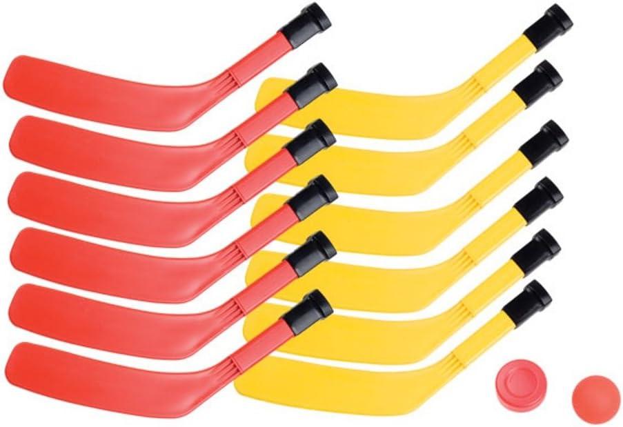 Champion Sports Scooter Board Hockey Set (Multi)
