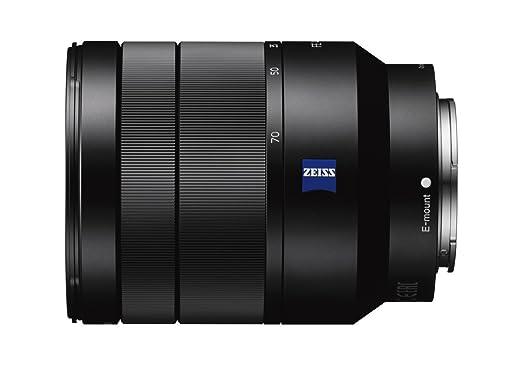 5 opinioni per Sony SEL2470Z Obiettivo con zoom DE 24-70 mm F4 ZA OSS, Nero