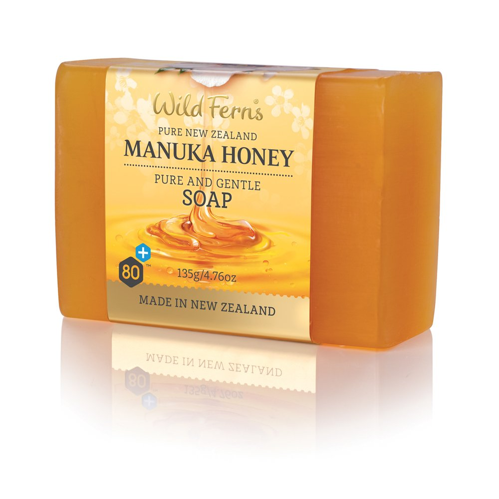 Wild Ferns Manuka Honey Pure and Gentle Soap
