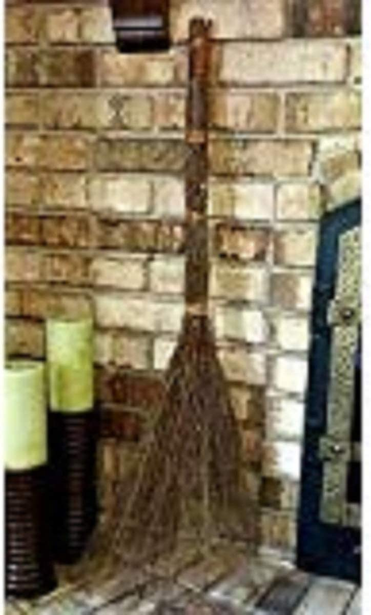 Harvests Best Fragrant Cinnamon Broom ~ Scented Decorative and Aromatic by Nature ~ 36 Long ~ Free Upgrade to Priority Shipping
