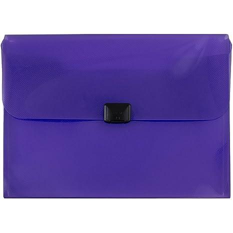 """JAM papel caja de plástico cartera con hebilla de centro – 9 1/2 """""""
