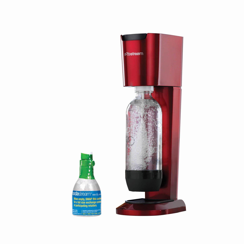 SodaStream Genesis Home Soda Maker Starter Kit, Red by SodaStream (Image #1)