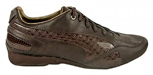 zapatillas puma hombre marron