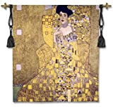 Fine Art Tapestries ''Adele Bloch-Bauer I'' Wall Tapestry