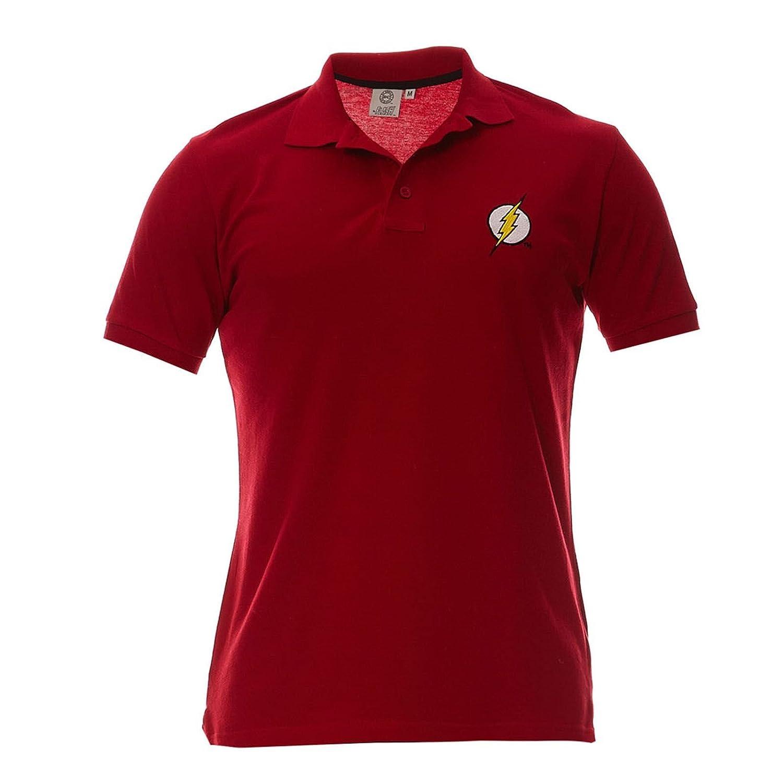 Polo Homme Flash - Logo - Legend Icon - M, Rouge: Amazon.es ...