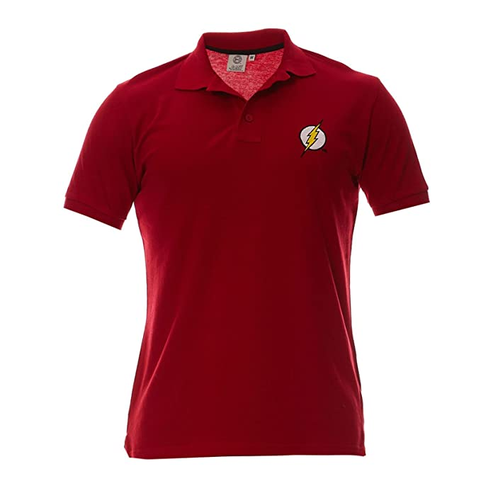 Polo Homme Flash - Logo - Legend Icon - M, Rouge: Amazon.es ...