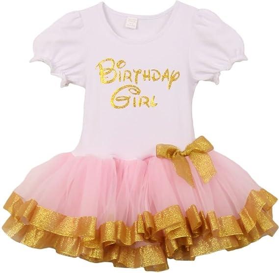 0d7395962 Amazon.com: Dreamer P Little Girls Cute Unicorn Birthday Girl Tutu Special  Girls Tutu Dresses Size 1-6: Clothing