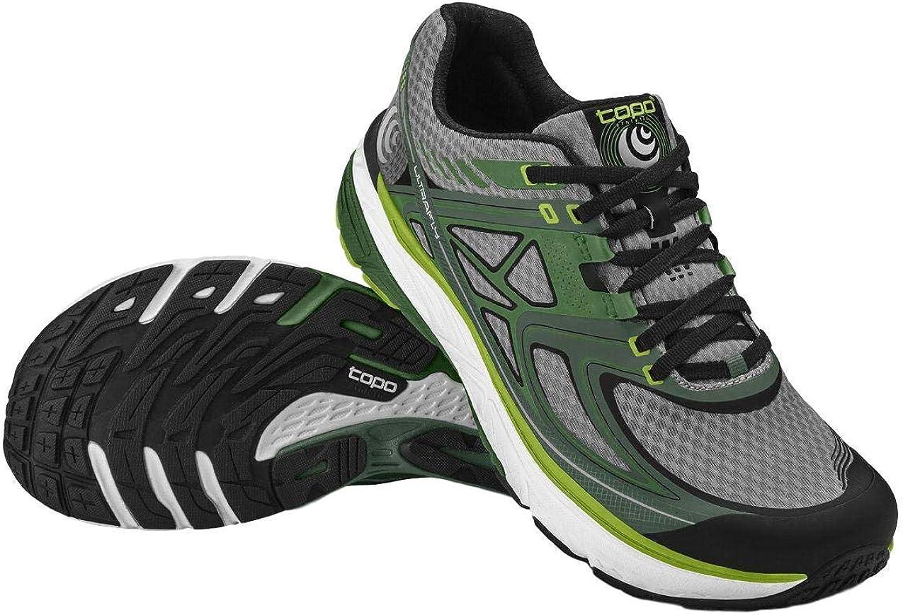 TOPO Athletic M-Ultrafly (größe 8), Zapatillas de Entrenamiento para Hombre, Mehrfarbig (Grün/Grau 6140), EU: Amazon.es: Zapatos y complementos