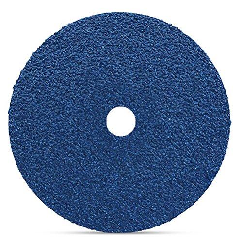Precision Abrasives 56-0017 Zirconia Resin Fiber Disc 36 Grit 7 x 7//8 7 x 7//8 Center Hole