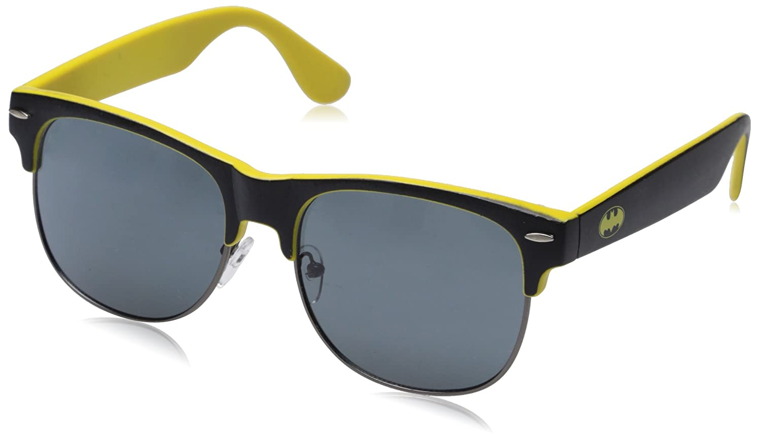 Batman Logo Half Frame Sunglasses w/ Case Bioworld