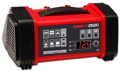 Ferve F-2520 Cargador Automático de Baterías de Plomo Ácido ...