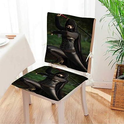 Amazon.com: Miki home Seat Set Cushion Female Ninja in ...