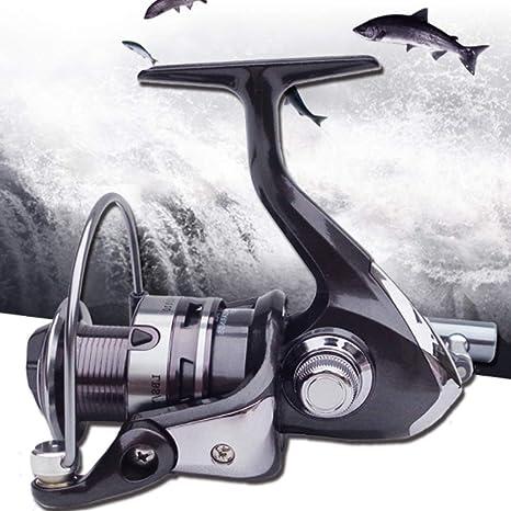 SHZJ Carrete De Pesca Carp Fishing Carrete 12bb MAX Drag 4.5-7.5KG ...