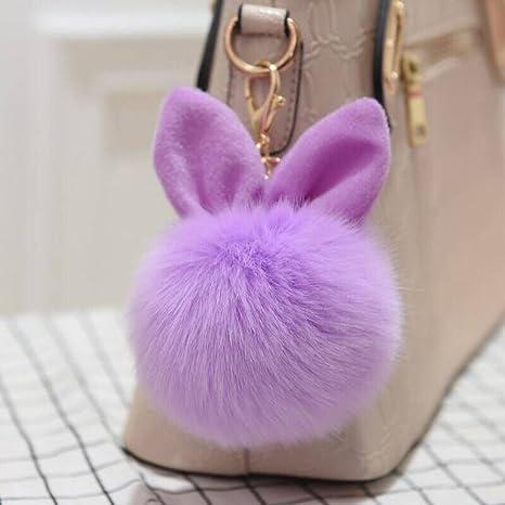 Amazon.com: 4.7 in Orejas de conejo de piel bolsa de bolas ...