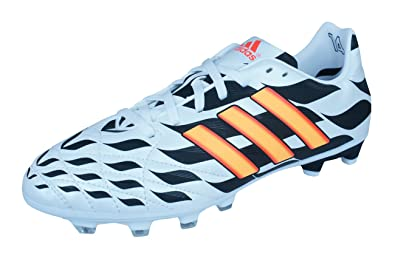 online store 4bb29 121e7 adidas 11 Nova FG WC Jungen Fußballschuh-White-36
