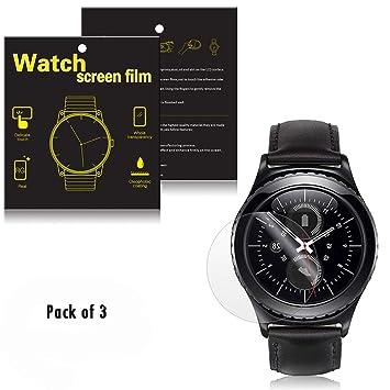 Samsung Gear S2 Classic Smartwatch Protector de pantalla [3 ...