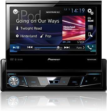 Pioneer AVH-X7800BT - Reproductor Multimedia DVD 1-DIN para Coche (con Pantalla táctil de 7