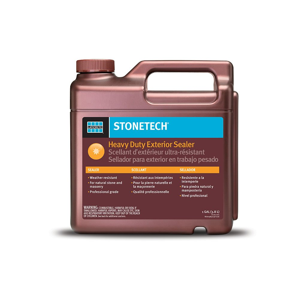 Lataicrete StoneTech Professional Solvent-Based Heavy Duty Exterior Sealer - 1 Gallon