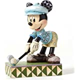 Jim Shore Disney Traditions Hole in One Mickey Mouse Golf Figurine 4050392 New