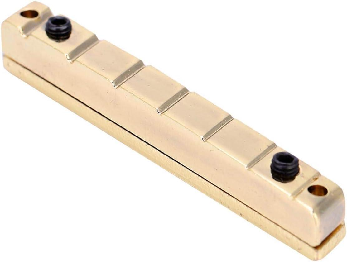 Piezas de repuesto para guitarra, puente de guitarra eléctrica de 7 cuerdas ajustable dorado para guitarras eléctricas