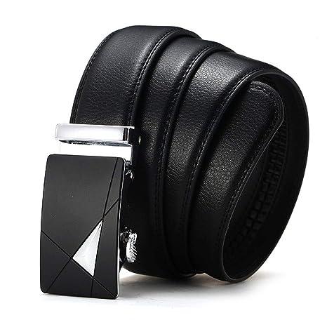 SJ-mans belt Cómodo Traje Pantalones Cinturón de Cuero de ...