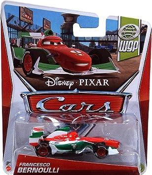 Amazon.com: Cars 2 WGP Francesco Bernoulli 1:55 Scale Die Cast ...