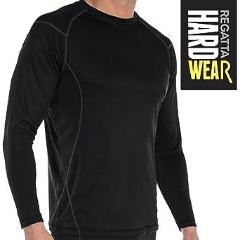 Camiseta Térmica Pro para Hombre - Ligero, Comodidad y Sequedad - Avanzado Poliéster Tejido + Anti-Bac/Anti-Sudor - Transpirable Mantiene el Calor y Aleja la Huedad - Protección Térmica: Amazon.es: Industria, empresas y