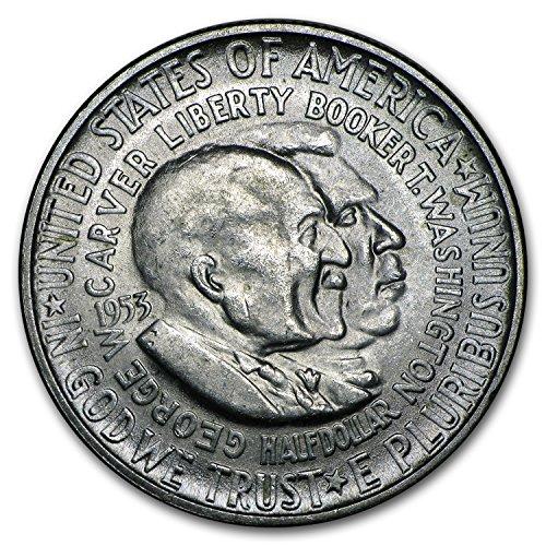 1953 S Washington-Carver Half Dollar BU Half Dollar Brilliant Uncirculated ()