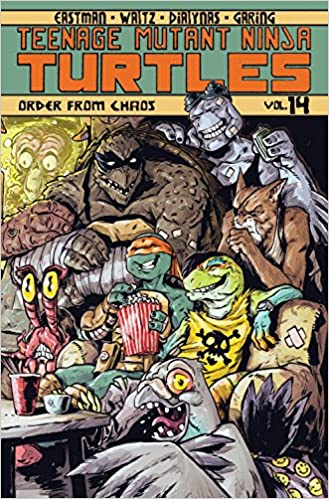 Teenage Mutant Ninja Turtles Volume 14: Order From Chaos ...