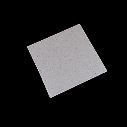 AST Works 2Pcs Microwave Oven Repairing Part Mica Plates Sheets 4.8X 4.8/120x120mm to