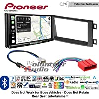 Volunteer Audio Pioneer AVIC-W8400NEX Double Din Radio Install Kit with Navigation, Apple CarPlay and Android Auto Fits 2013-2016 Mazda CX-5