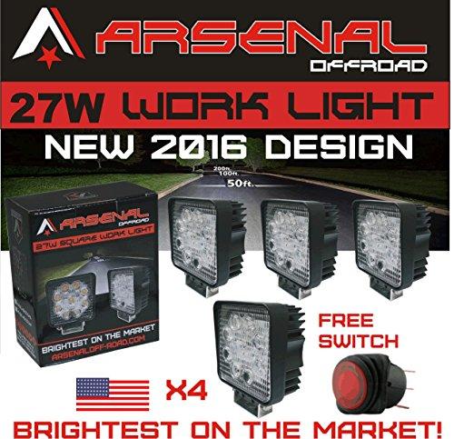 4 Tuff Led Lights - 7