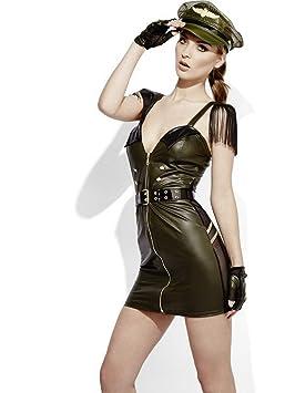 Luxuspiraten – Disfraz de Mujer Militar, Jefe de Estación, con ...