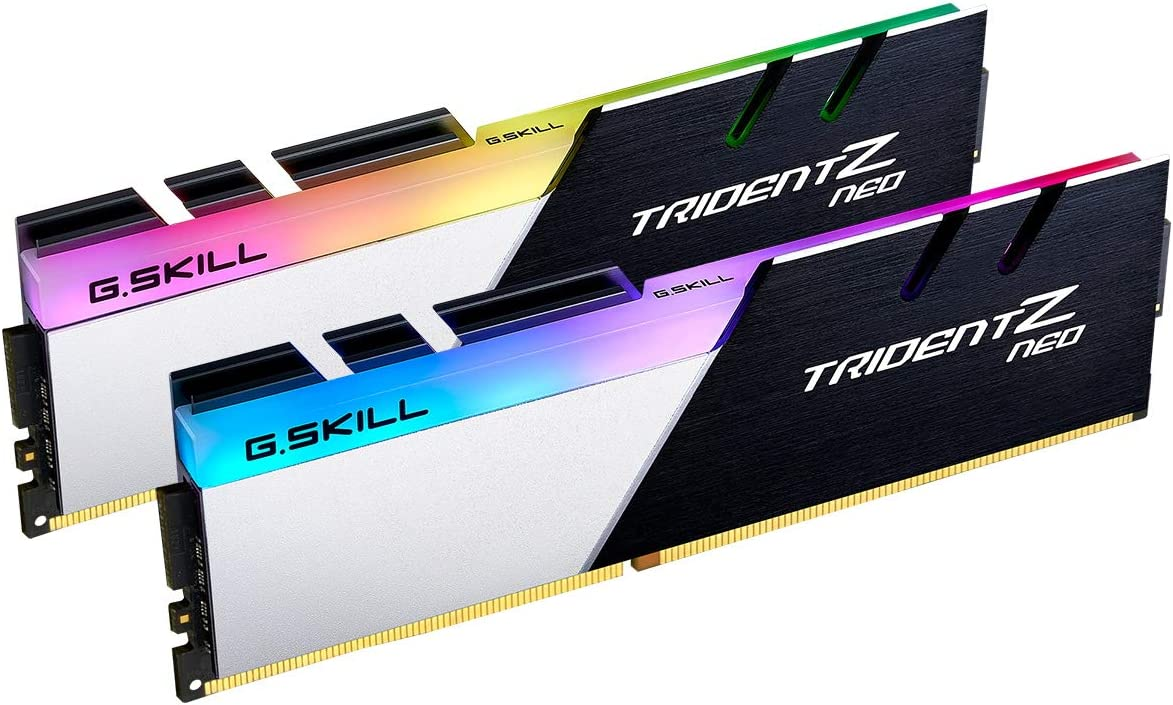 2 x 16GB G.SKILL 32GB Ripjaws V Series DDR4 PC4-28800 3600 MHz 288-Pin Desktop Memory Model F4-3600C18D-32GVK