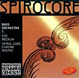 Thomastik-Infeld 3871.3 Spirocore Double Bass Single E String, 1/2 Size, Steel Core Chrome Wound