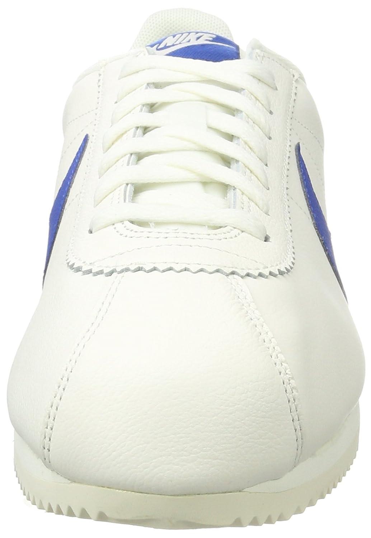 Nike Classic Cortez - Zapatos de gimnasio para hombre, color Azul (Sail/blue Jay), talla 46 EU