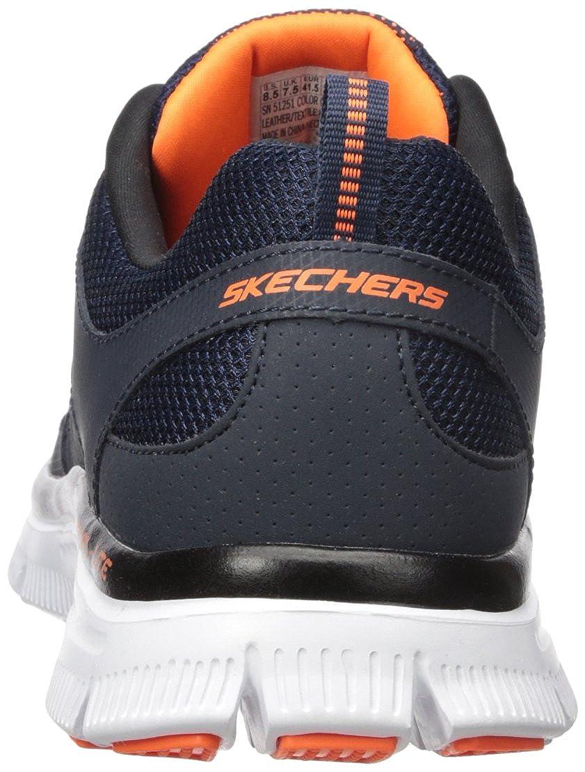 e5ef35e291ca Skechers Flex Advantage Men s Low-Top Sneakers  Amazon.co.uk  Shoes   Bags