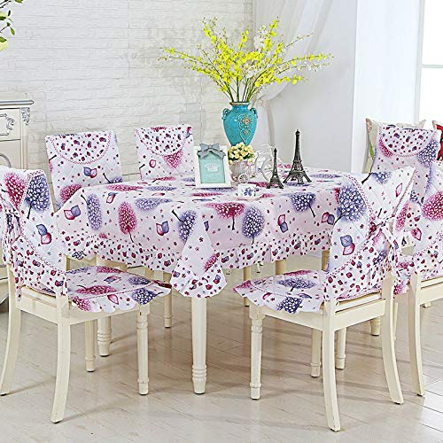 Rectangular Maple Leaf Pattern Table Cloth Quality Three Size Table Cover 13pcs Tablecloth For Home Wedding Tableclothes Set  facaishu B07SDL52SZ