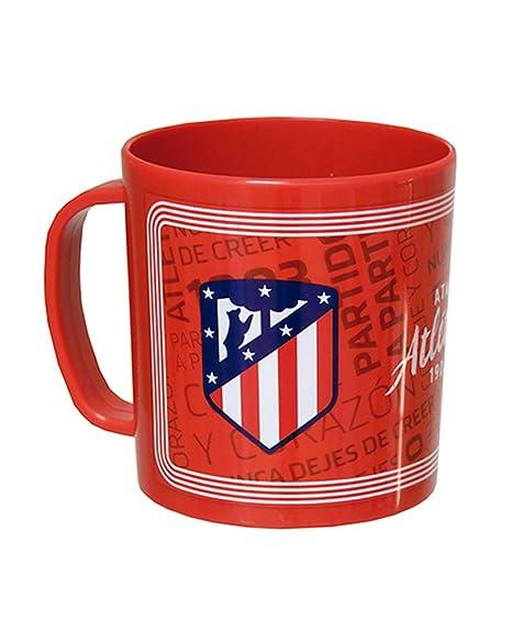 Taza Atletico Madrid microondas