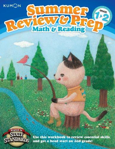 Kumon Summer Review & Prep Workbooks 1-2