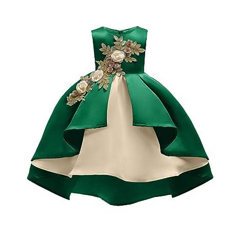 Yuflangel Vestido De Fiesta De Bodas De Cumpleaños Para