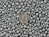 Ceramic Porcelain Tumbling Media Mixed 10 Lbs. 3 mm & 6 mm Fast Cutting Grey Abrasive Sphere