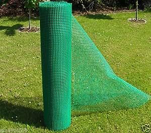 Goplast - Malla (1,2 m de ancho, plástico, se vende por metros), color verde