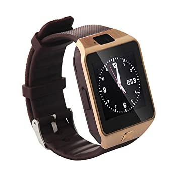 Reloj inteligente Bluetooth,SmartWatch Smart Phone Camera Pulsera Pantalla táctil Compatible con tarjeta SIM/