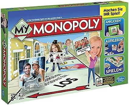 Hasbro Monopoly - My Monopoly (versión en alemán): Amazon.es: Juguetes y juegos