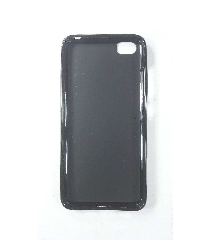 Funda de gel TPU carcasa protectora silicona para Xiaomi MI5 Negra