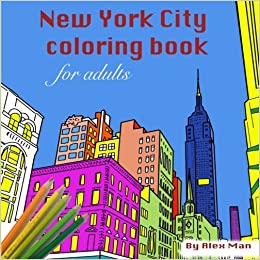 Amazon New York City Coloring Book For Adults Coloring Books