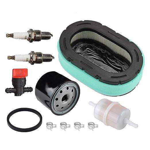 Panari Tune Up Kit Filtro de aire Filtro de aceite para MTD Cub ...